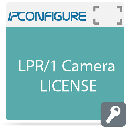 IPConfigure Embedded License Plate Recognition Application for Axis Cameras  with 1-Year Support/Upgrade Subscription