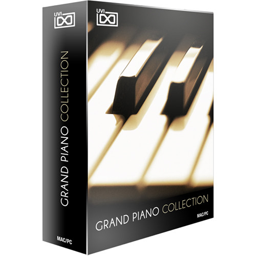 UVI Grand Piano Collection - Virtual Acoustic Grand 1105-27 B&H