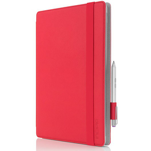 info for 017fd d8af3 Incipio Roosevelt Folio for Microsoft Surface Pro 3 (Red)