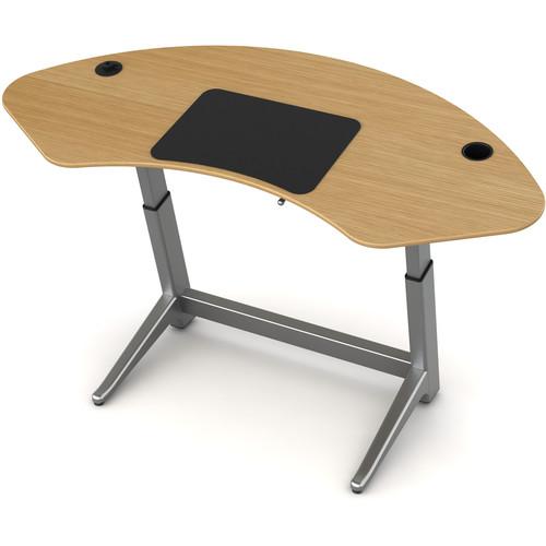 Focal Upright Furniture (LET-1000-OA) Sphere Standing Desk (White Oak Top)
