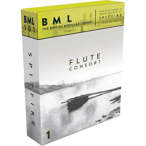 Spitfire Audio Flute Consort Volume 1 - Solo Flute Sample Library (Download)