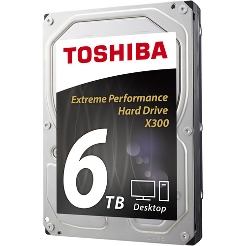 Toshiba X300 6TB Internal Hard Drive