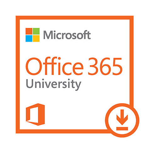 Microsoft Office 365 University 2016 (2 PC or Mac License / 4-Year /  Download)