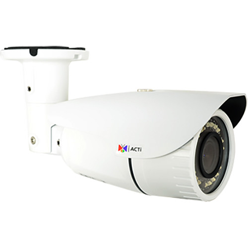 ACTi (A41) 3MP Outdoor Network Bullet Camera with Night Vision