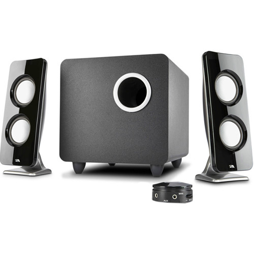 Cyber Acoustics Curve Immersion Speaker System with Control Pod