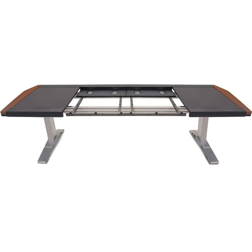 Argosy (ENU-M32L-DD-B-M-S) Eclipse Large Console Workspace for Yamaha Nuage Workstation with Left & Right Desk Surfaces and 1 Master/2 Faders (Mahogany Trim)