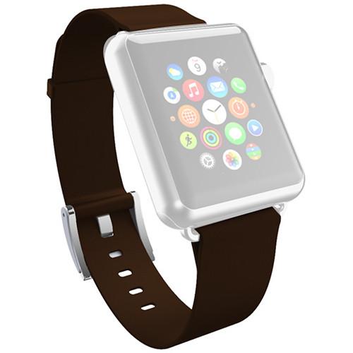 new arrival cbb9d 1df46 Incipio Premium Leather Band for Apple Watch (38mm, Espresso)