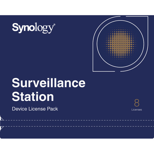 Synology 8-Camera License Key for Synology Surveillance Station