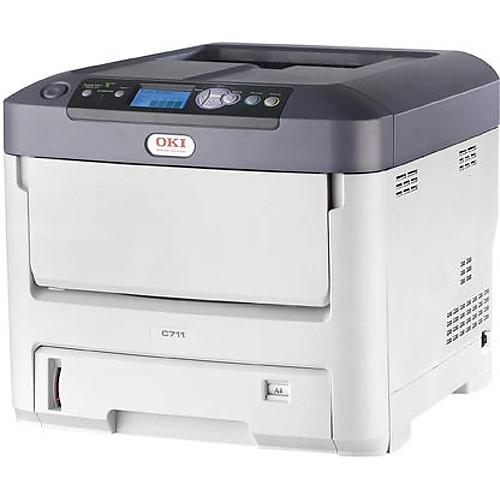 OKI C711dn Color LED Printer (120 VAC)