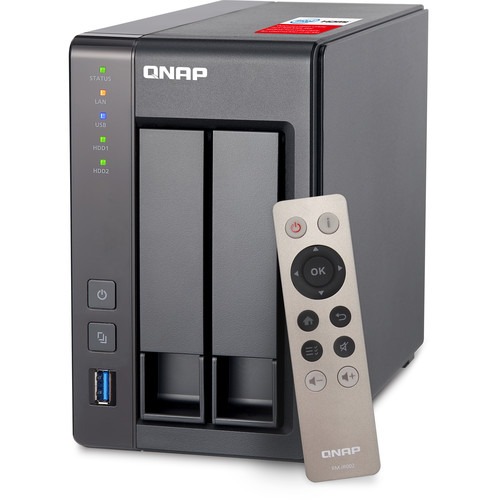 QNAP 2-Bay Personal Cloud Network Attached Storage