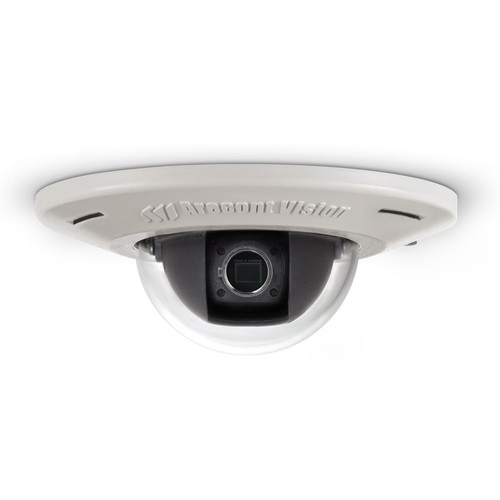 Arecont Vision (AV2456DN-F-NL) MicroDome Series 2.07MP Day/Night Flush-Mounted Dome Camera Without Lens