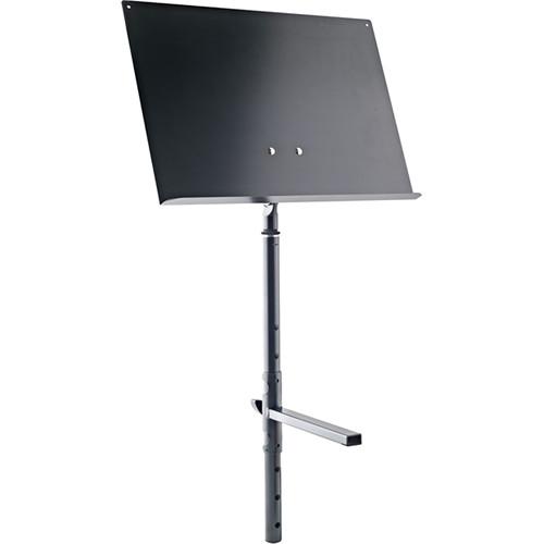 K&M Height-Adjustable Sheet Music & Concept Holder (Black)