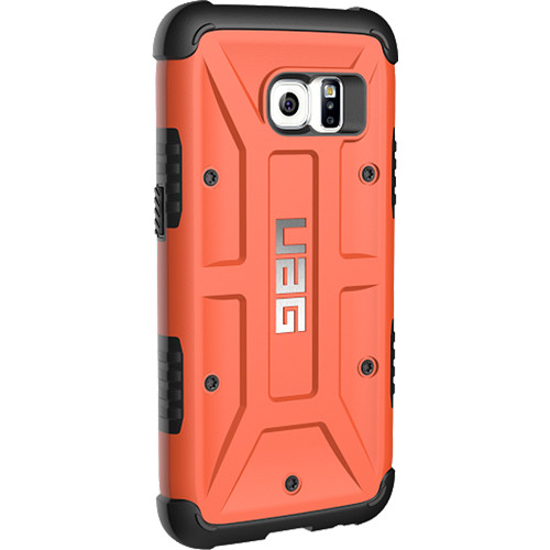 new style d3ed0 adfaa Urban Armor Gear Card Case for Galaxy S7 (Rust)