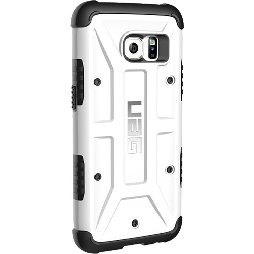 new product 4d9a6 caac9 Urban Armor Gear Card Case for Galaxy S7 (White)
