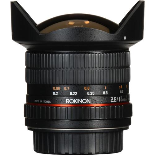Rokinon 12mm F2.8 Ultra Wide Fisheye Lens