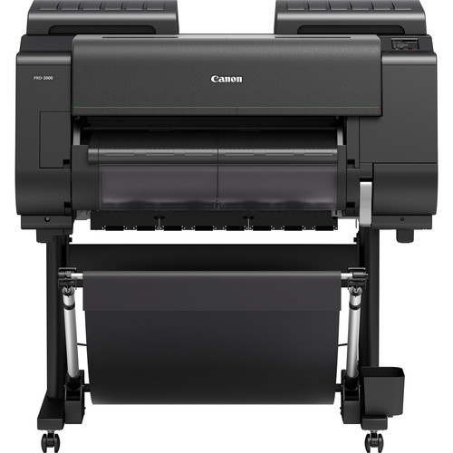 "Canon imagePROGRAF PRO-2000 24"" Professional Photographic Large-Format Inkjet Printer"