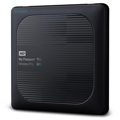WD My Passport Wireless Pro 2TB USB 3.0 Portable Hard Drive