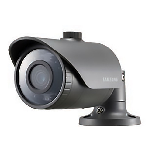 Hanwha Techwin (SCO-6023R) WiseNet HD+ 2 MP AHD Outdoor Bullet Camera with 4 mm Fixed Lens & Night Vision