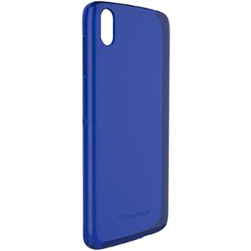 BlackBerry DTEK50 Soft Shell Case (Transparent Blue)