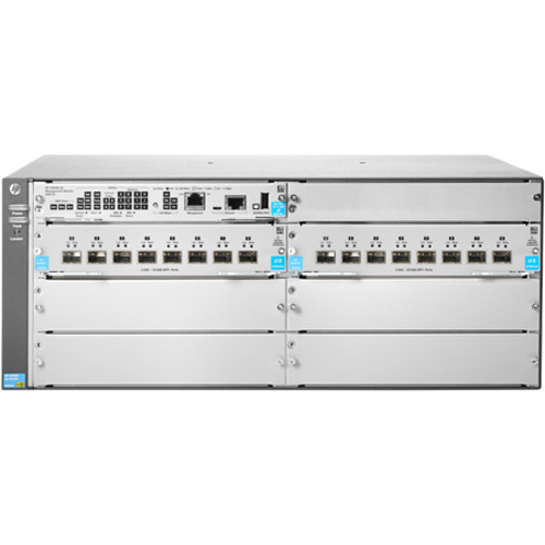 HP Aruba 5406R v3 zl2 16-Port SFP+ Layer-3 10Gb Ethernet Switch with Four  Expansion Slots (4 RU)