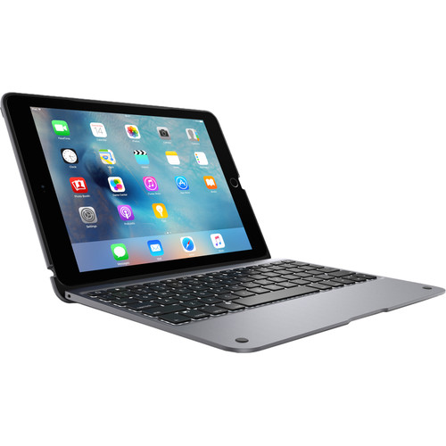 ClamCase (IPD-327-SGRY) ClamCase+ for iPad Pro 9.7 (Space Gray)