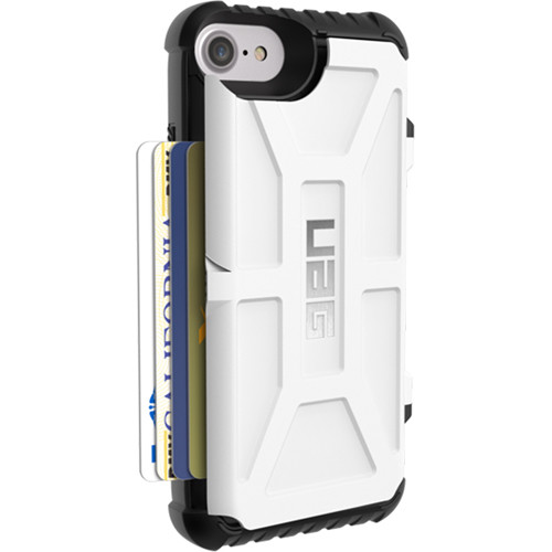 info for 78cef 7af37 Urban Armor Gear Trooper Card Case for iPhone 6/6s/7/8 (White)