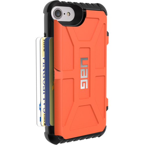 wholesale dealer 2d292 c83b2 Urban Armor Gear Trooper Card Case for iPhone 6/6s/7/8 (Rust)
