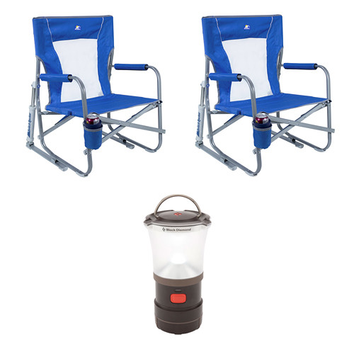 Enjoyable Gci Outdoor Beach Rocker Chairs 2X Lantern Kit Gmtry Best Dining Table And Chair Ideas Images Gmtryco