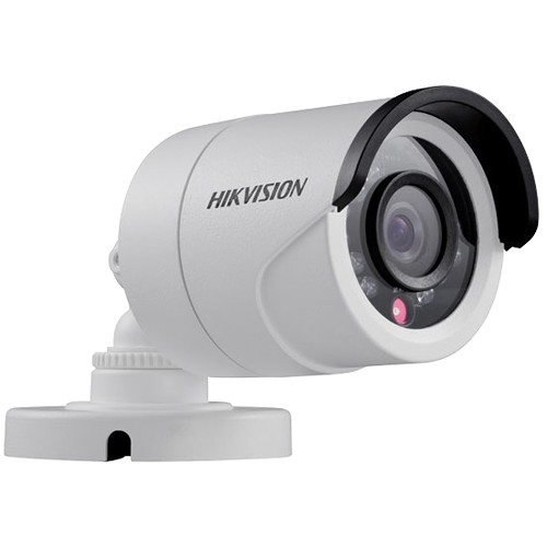 Hikvision (DS-2CE16C2T-IR2.8) TurboHD Series 720p Outdoor HD-TVI Bullet Camera with 2.8mm Lens and Night Vision