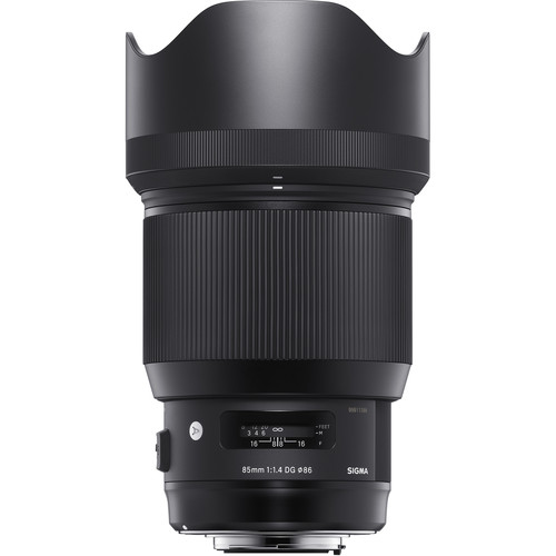 Sigma 85mm f/1.4 DG HSM Art Lens at B&H
