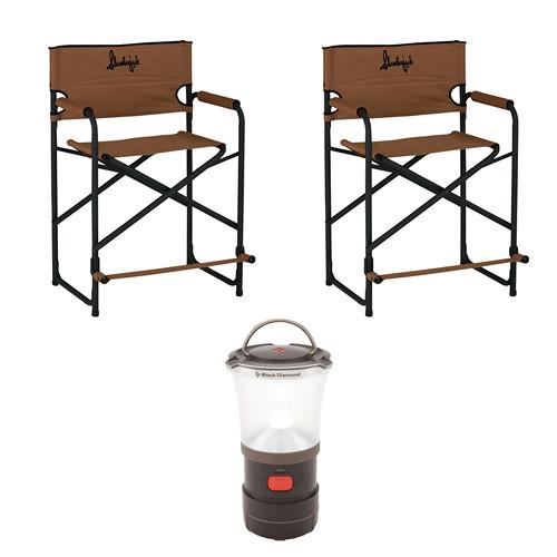 Marvelous Slumberjack Big Tall Steel Chairs 2 With Led Camp Lantern Kit Forskolin Free Trial Chair Design Images Forskolin Free Trialorg