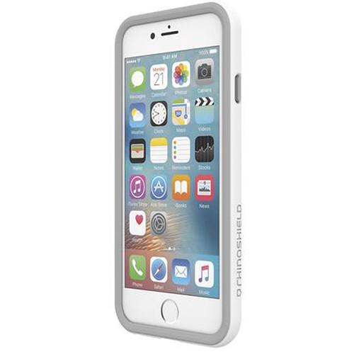 wholesale dealer 56a7c dec99 RhinoShield CrashGuard Bumper for iPhone 7 Plus/8 Plus (White)