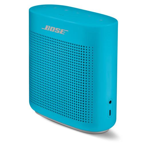 Bose (752195-0500) SoundLink Color II Bluetooth Speaker (Aquatic Blue)