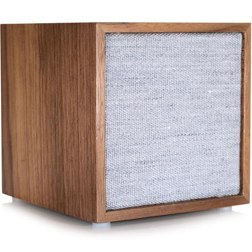 Tivoli (CUBWAL) CUBE Bluetooth Wireless Speaker (Walnut/Gray)