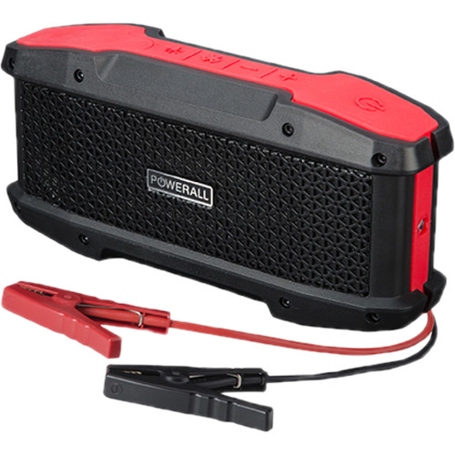(PBJS16000WS) Powerall Journey 16,000 mAh Jump Starter with Bluetooth Speaker