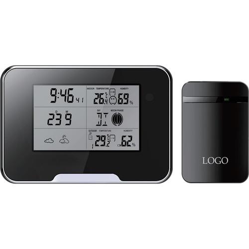 Mini Gadgets (MCCWIFIWEATHER) Digital Weather Clock with 1080p Wi-Fi Covert Camera