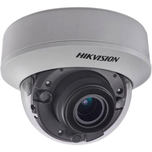 Hikvision (DS-2CE56D7T-AITZ) DS-2CE56D7T-AITZ 2MP Analog HD Dome Camera with 2.8-12mm Varifocal Lens & Night Vision
