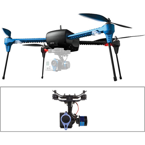3DR IRIS+ Quadcopter with Gimbal and Battery Kit