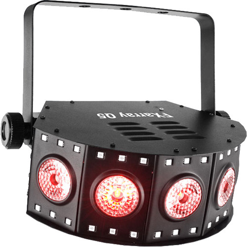 Chauvet DJ FXarray Q5 Quad-color LED Wash Light w/ an array of RGB+UV LEDs