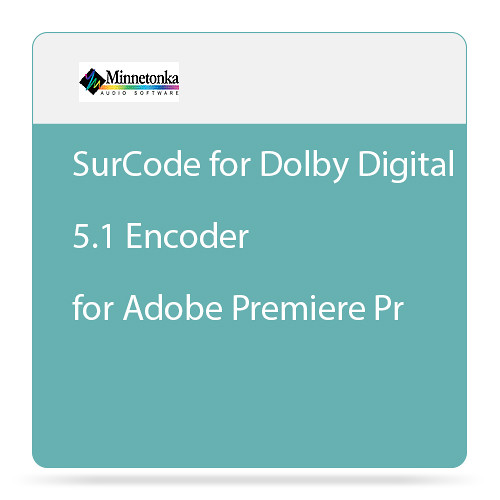 SurCode for Dolby Digital 5 1 Encoder for Adobe Premiere Pro - Plug-In