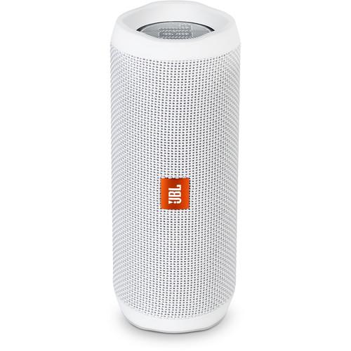 JBL (JBLFLIP4WHTAM) Flip 4 Wireless Portable Stereo Speaker (White)