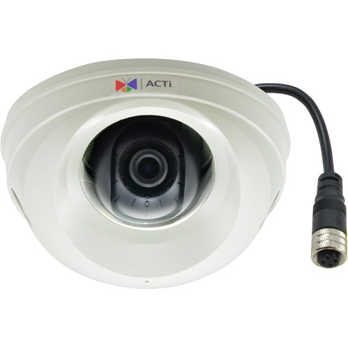 ACTi (E99M) E99M 3MP Day/Night Mobile Vehicle Outdoor Mini Dome Camera with Extreme WDR and SLLS