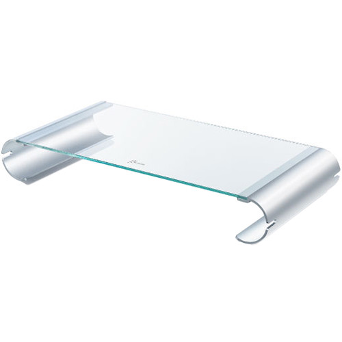 Tempered Glass Monitor Stand Jut125 B H, Glass Monitor Stand