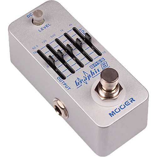 MOOER Graphic B 5-Band Bass Equalizer Pedal for Bass
