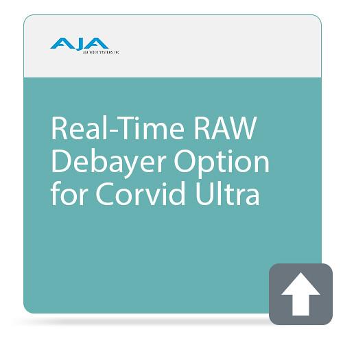 AJA Real-Time RAW Debayer Option for Corvid Ultra