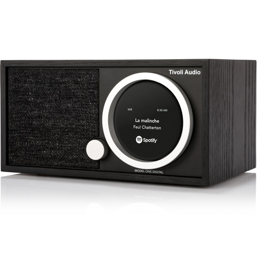 Tivoli (M1DBLK) ART Collection Model One Digital Radio (Black/Black Ash)