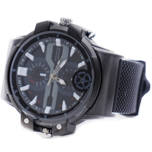 Mini Gadgets (DVMWATCH2K) Wrist Watch with 2K Covert Camera