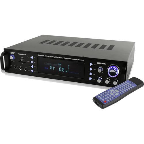 Pyle Pro (P2203ABTU) P2203ABTU Stereo 240W Hybrid Preamplifier/Receiver with Bluetooth