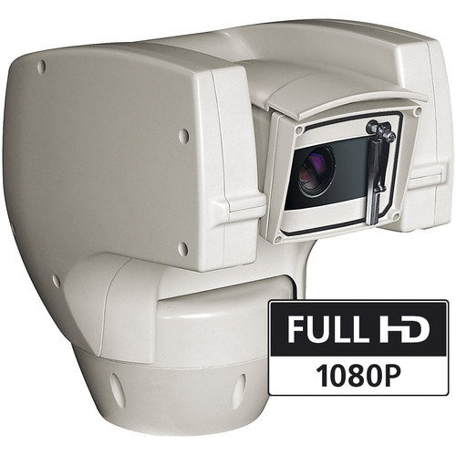 Videotec (UCHD3FWAZ00A) ULISSE COMPACT HD 1080p Outdoor Network PTZ Camera with Integrated Wiper (120 VAC)