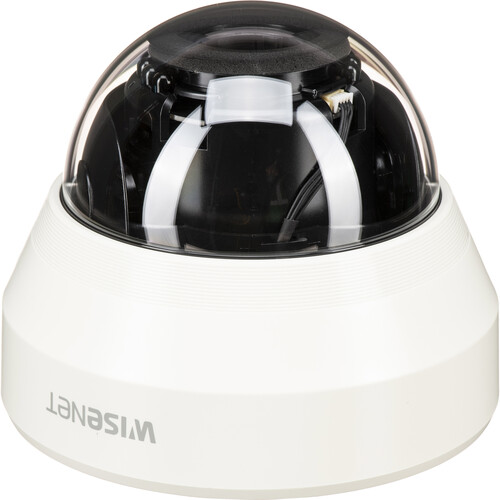 Hanwha Techwin (HCD-6070R) WiseNet HD+ 2MP Analog HD Outdoor Dome Camera with Night Vision & Manual Varifocal